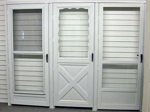 Storm doors entry doors exterior doors by toronto doors for Front entry doors with storm door