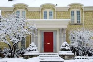 entrance doors pre-winter check