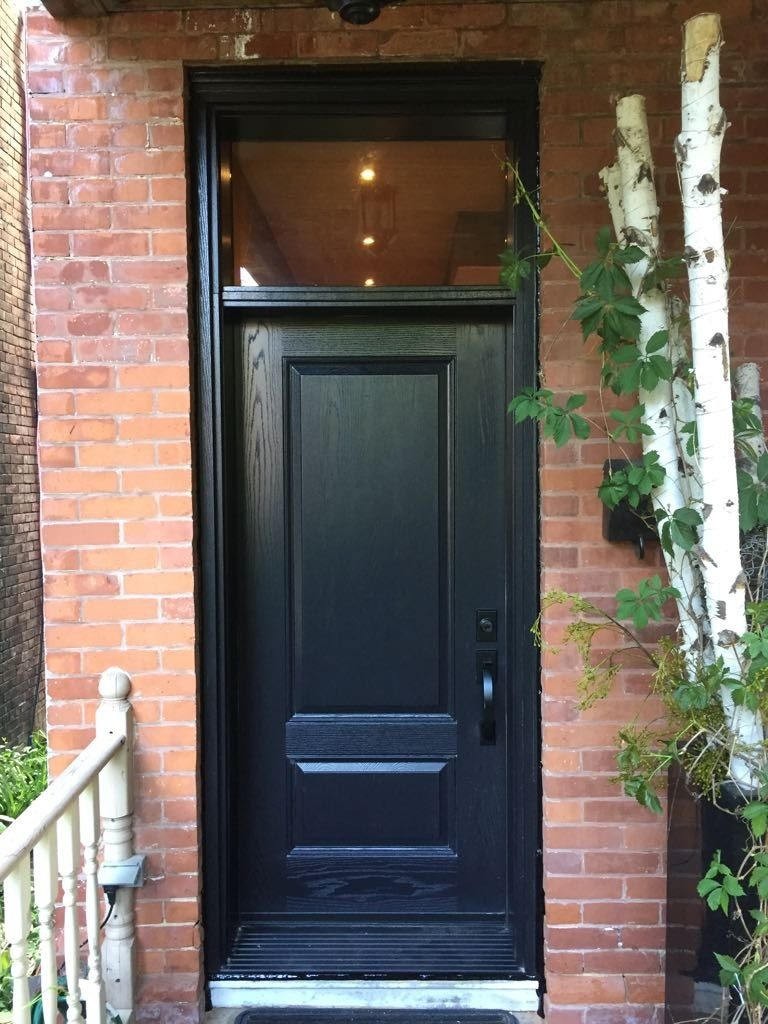 Wood Entry Door
