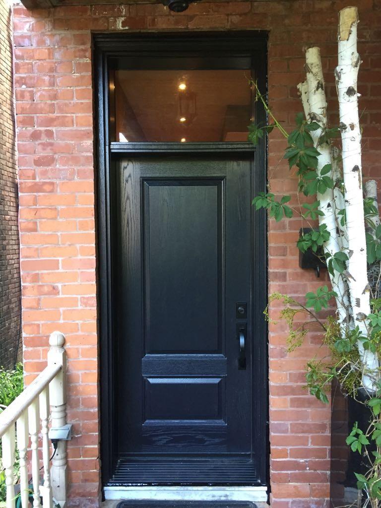 Primary Sidebar & Gallery of Toronto Door and Windows Company | Entry Exterior Vinyl door
